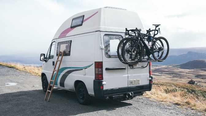 can you put a bike rack on a van